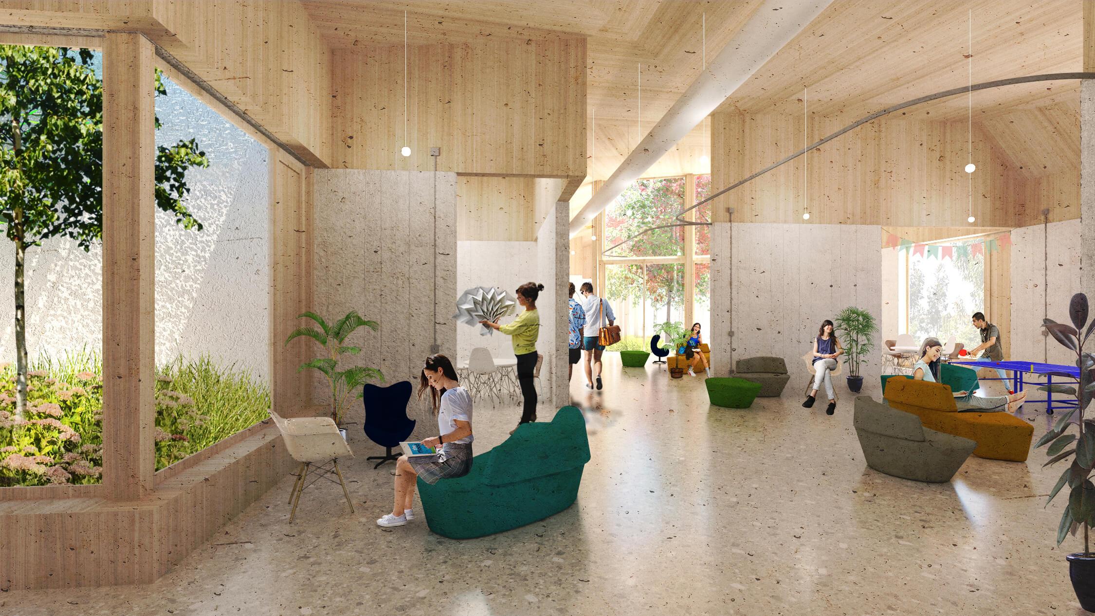 Centro social interior 1