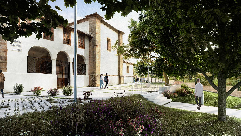 Espacio público Iglesia San Pedro 1